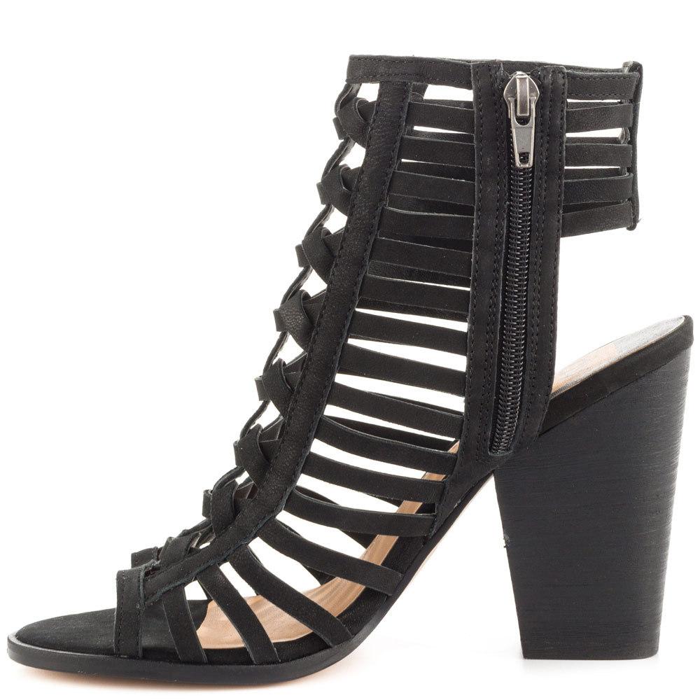 Gladiator Heels Black Kitten