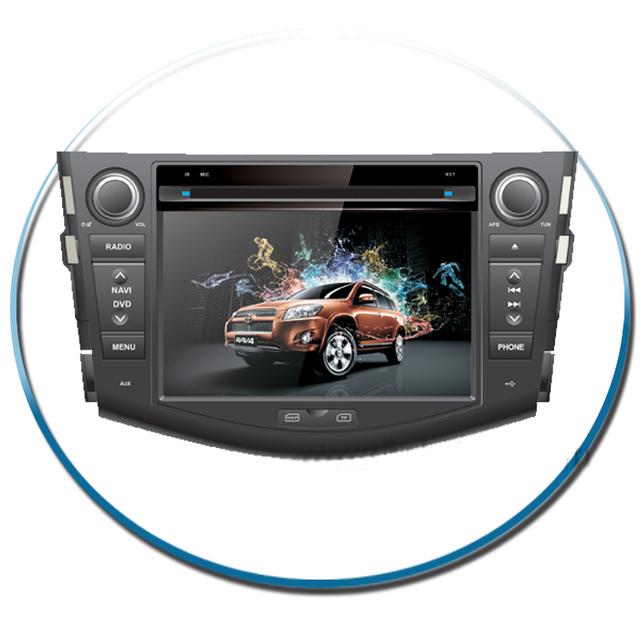 7Inch Double Din Toyota Car RAV4 Car Navigator Gps with Built in Radio/Ipod/bluetooh/steering wheel control