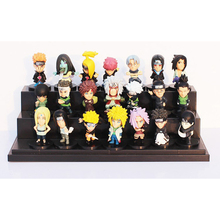 2016 New 21 Pieces/A Lot Naruto Series Action figure Toys Japanese Anime Carton For Kids Gift Toy Boy PVC Model Hot Selling 5CM