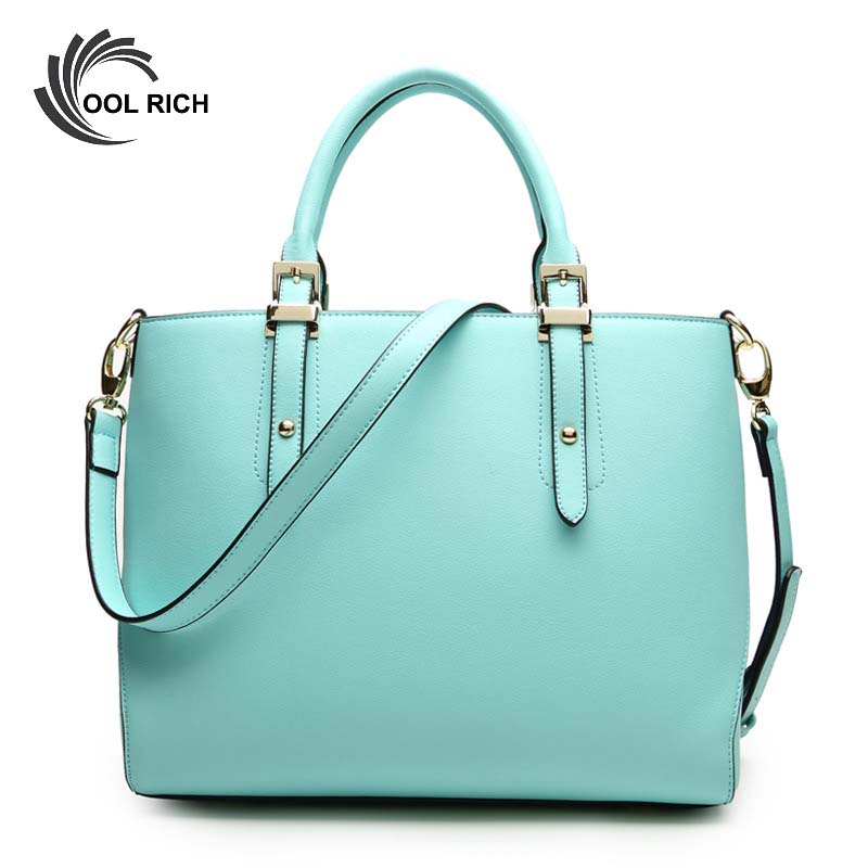 2016 Brand new Fashion Bags Candy Color PU Leather Tote Bag Women Messenger Bags Green Clutch Ladies Shoulder Handbags Bolsos <br><br>Aliexpress