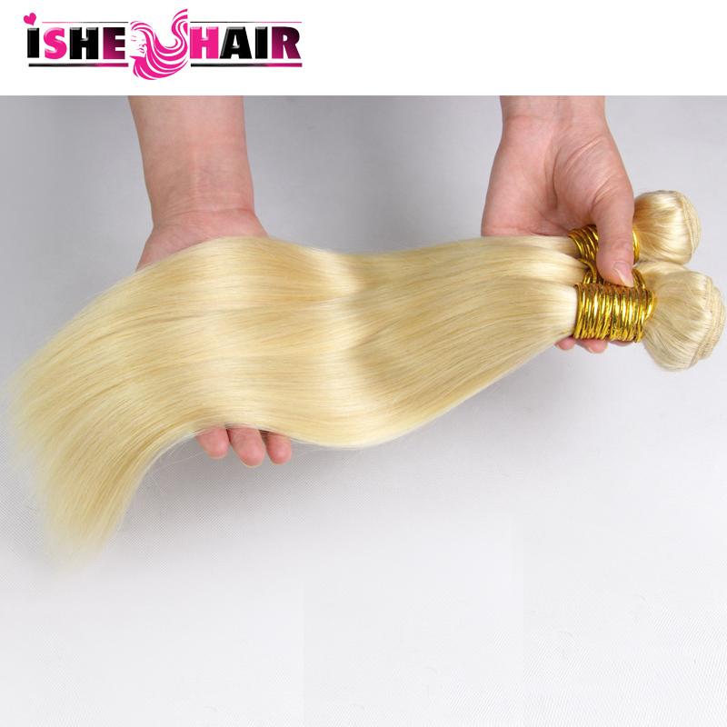 blonde brazilian hair tissage bresilienne 613 blonde straight virgin hair 3pcs 7a unprocessed brazilian human hair bundle deals