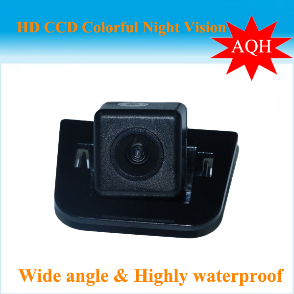 SONY CCD HD night vision Car Rear View camera Backup parking aid monitor rearview system reversing camera for 2012 Toyota Prius(China (Mainland))