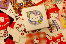 38pcs/set Hello Kitty Themes Stickers Adhesive Stickers DIY Decoration Stickers Party Wedding Birthday Thanksgiving Decor(China (Mainland))