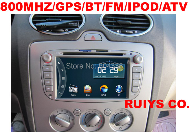 car dvd(two colors:black/gray optional) 800MHZ for Ford (2006-2014)galaxy/(2011-2014)S-Max/( 2008-2011)focus /(2007-2014)mondeo(China (Mainland))
