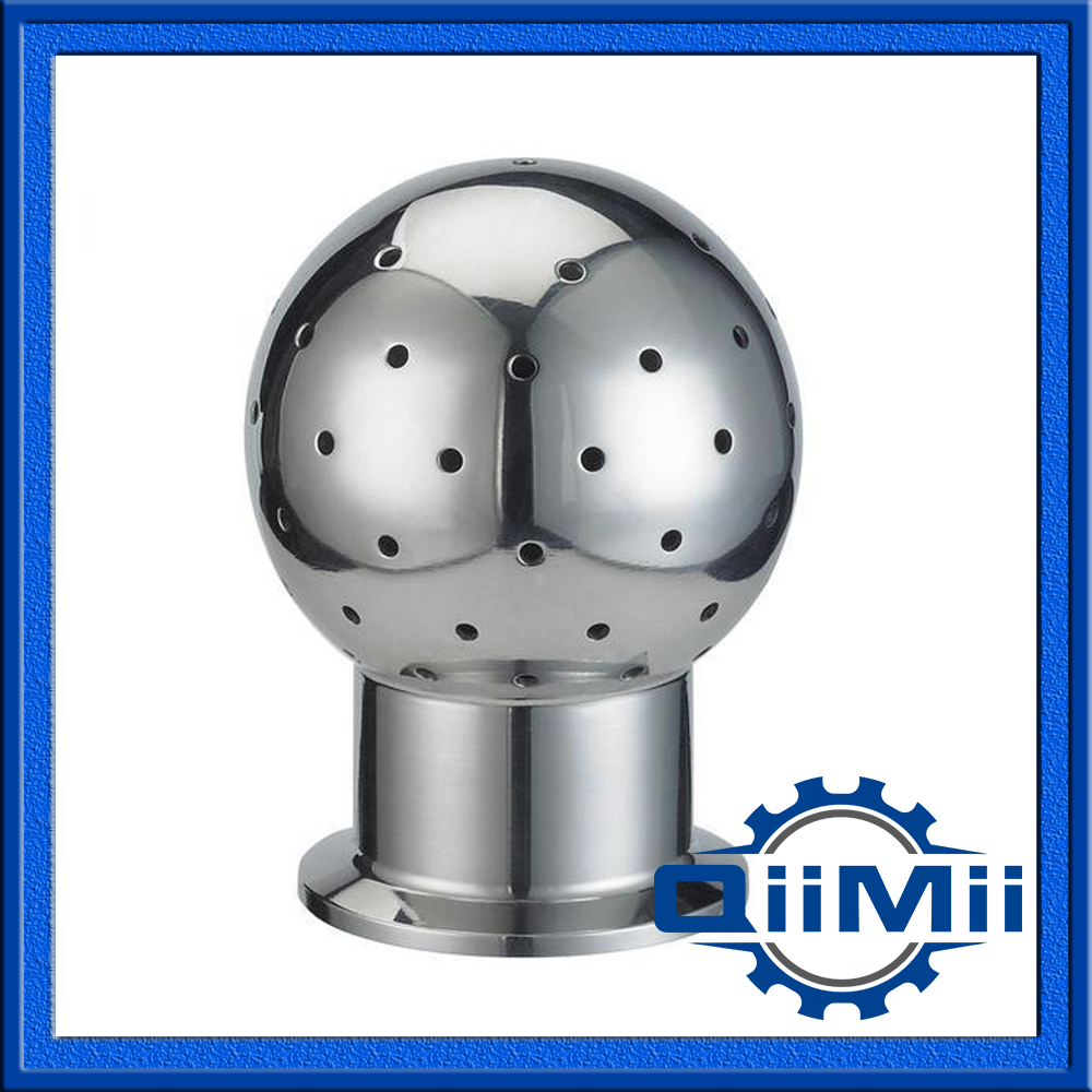 "1""TC 360degree spray ball, SS rotary cleaning ball,Static cleaning ball, Spray ball Steel SS304 SS316L(China (Mainland))"