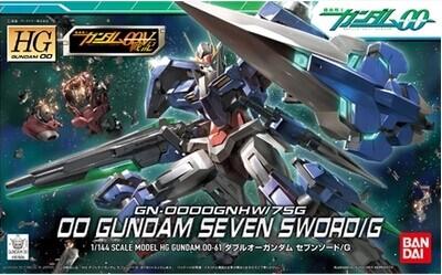 The original Bandai Gundam model up to 00 HG 61 1/144 Seven Sword 7 seven sword(China (Mainland))
