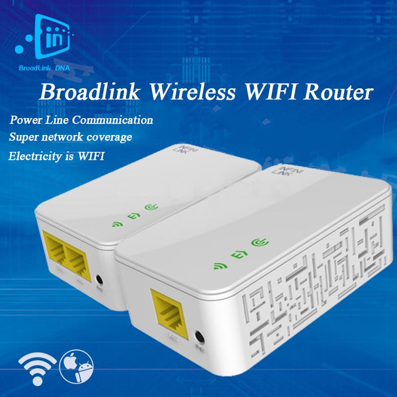 Фотография Broadlink DNA, 200M Smart Wireless WIFI Router, Powerline Carrier Router WIFI ,Range Extender, Smart Home Automation
