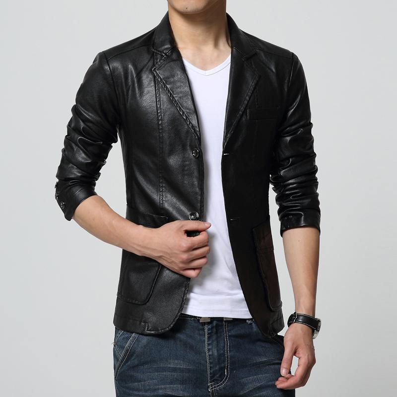 High Quality Mens Blazer Leather-Buy Cheap Mens Blazer Leather ...