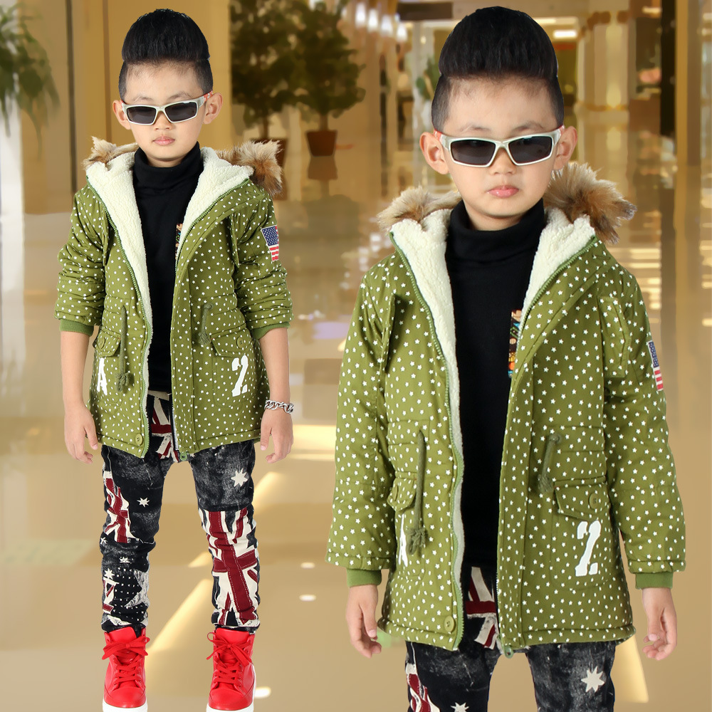 children Kids of fat children cashmere coat 2015 new boys warm jacket and long sections Nagymaros collar<br><br>Aliexpress