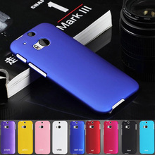 M8 UV Painting Anti-skid Surface Business Style Matte Hard Click Case For HTC ONE M8 ONE2 5.0″ Mobile phone Protective Cover