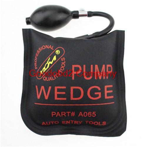 Profesional 2015 KLOM PUMP WEDGE LOCKSMITH TOOLS Auto Air Wedge Lock Pick Open Car Door Lock Medium Size Auto Air PUMP WEDGE(China (Mainland))