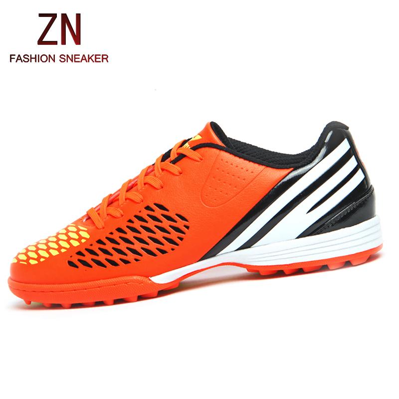 2016 colors stripe soccer shoes autumn sport