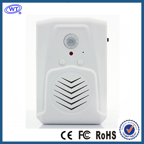 Free Shipping Mini Motion Sensor Advertising Speaker(China (Mainland))