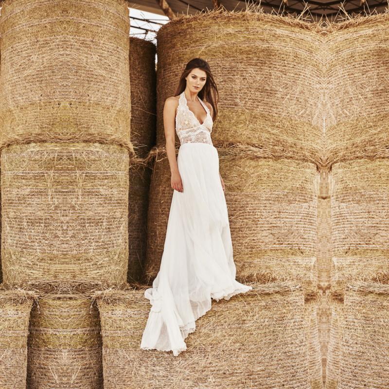 buy hot sale beach chiffon long wedding