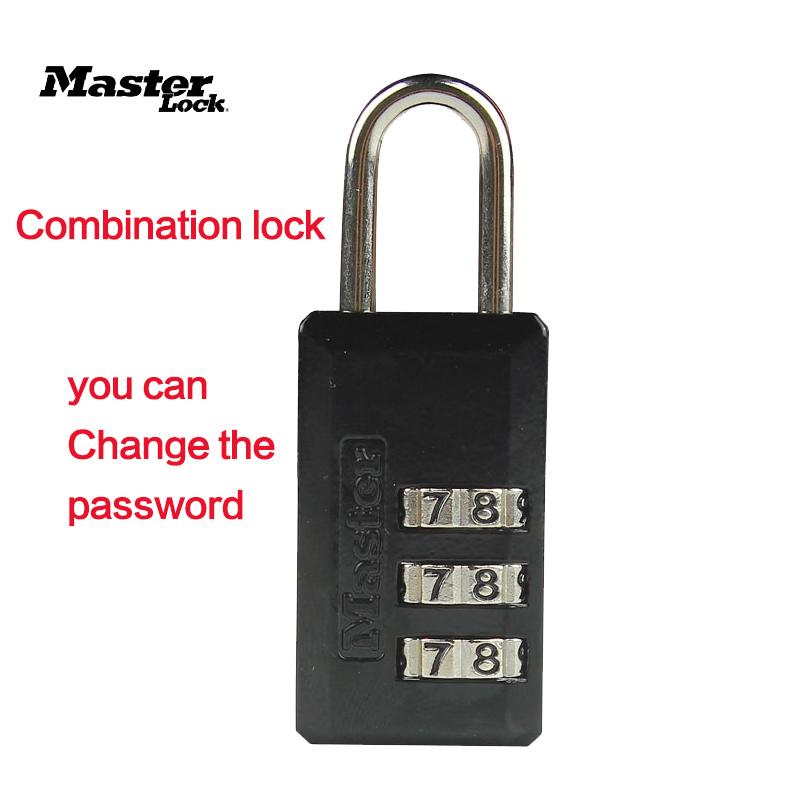 master lock padlock professional lock picks handbag Combination lock(China (Mainland))