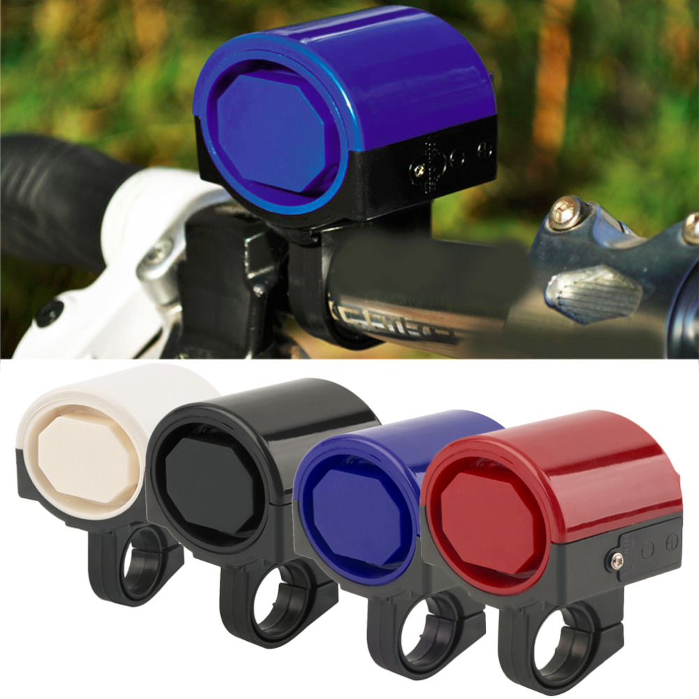MTB Road Bicycle Bike Electronic Bell Loud Horn Cycling Hooter Siren Holder free shipping(China (Mainland))