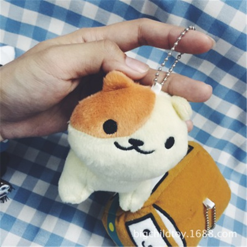 [PCMOS] 2017 New Japanese Anime Neko Atsume Plush Bus Cat and Star Heart Cat a Set 17031016(China (Mainland))