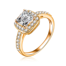Buy LZESHINE Geometric Square Ring Gold /Silver Color Micro Pave Cubic Zirconia 2017 Punk Jewelry Wedding Rings bijoux CRI0008 for $1.80 in AliExpress store