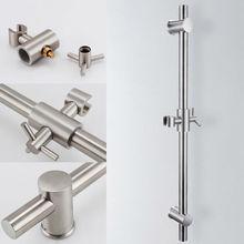 KES F203-2 Edelstahlrutsche Bars mit Alle Messing Handbrause Halterung Höhe und Neigung Verstellbar, Poliert/Gebürstetem Stahl(China (Mainland))