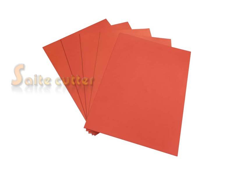 Laser Rubber Sheet Printing Engraver Engraving DIY Sealer Stamp A4 2.3mm Orange colour(China (Mainland))