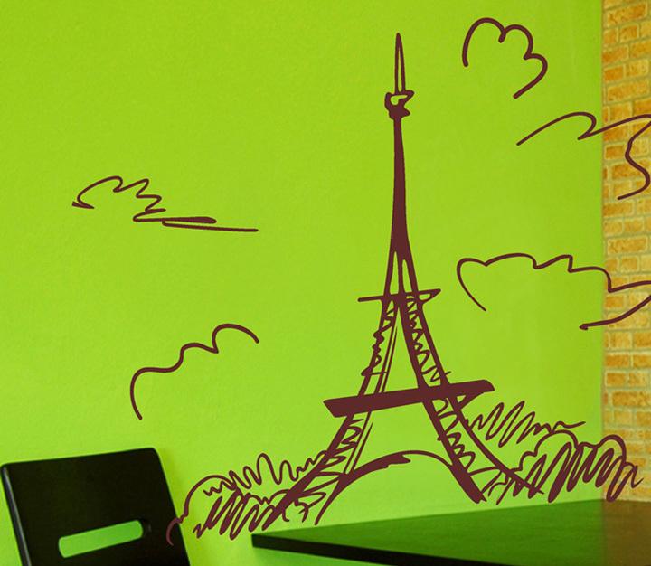 Aliexpress.com: Comprar Dibujo palillo pantalla de la torre Eiffel ...
