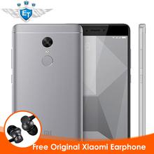 Buy Original Global Version Xiaomi Redmi Note 4 Smartphone 4GB 64GB Snapdragon 625 Octa Core CPU 5.5'' 1080p Display 13.0 MP FCC CE for $195.99 in AliExpress store