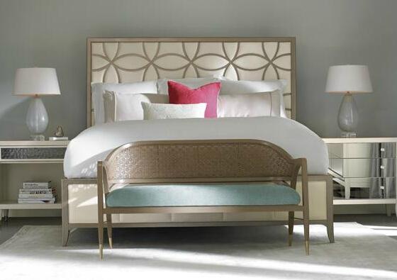 Europa stile semplice letto di casa morbido letto - Mobili stile americano ...