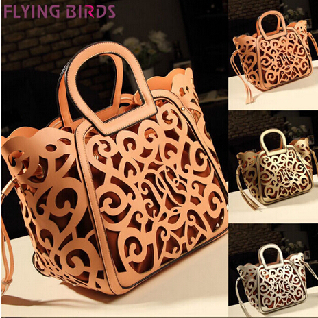 FLYING BIRDS! 2014 new free shipping Five bags Set women's pu leather