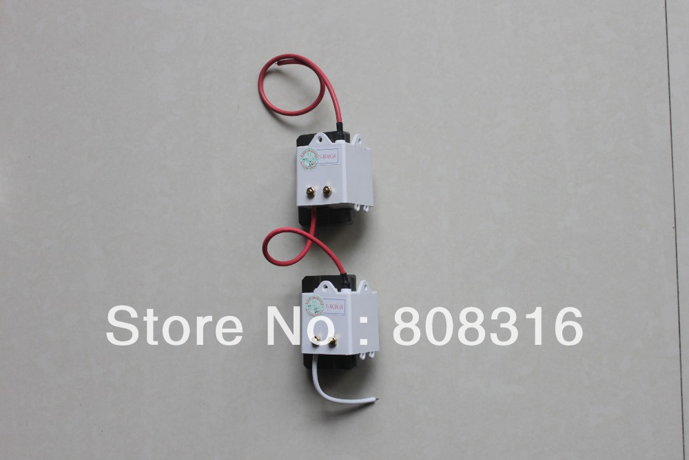 2PCS Series connection 80w Laser power supply high pressure bag flyback transformer(China (Mainland))