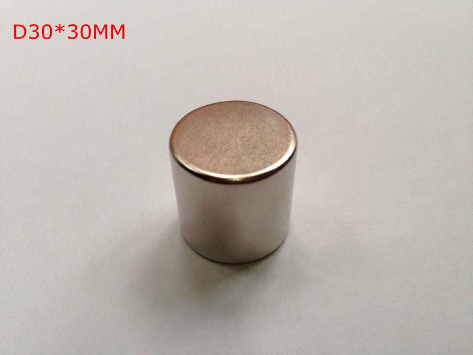 Гаджет  D30*30MM Extremely Powerful N50 Rare Earth Magnets Neodymium Magnet Block None Строительство и Недвижимость