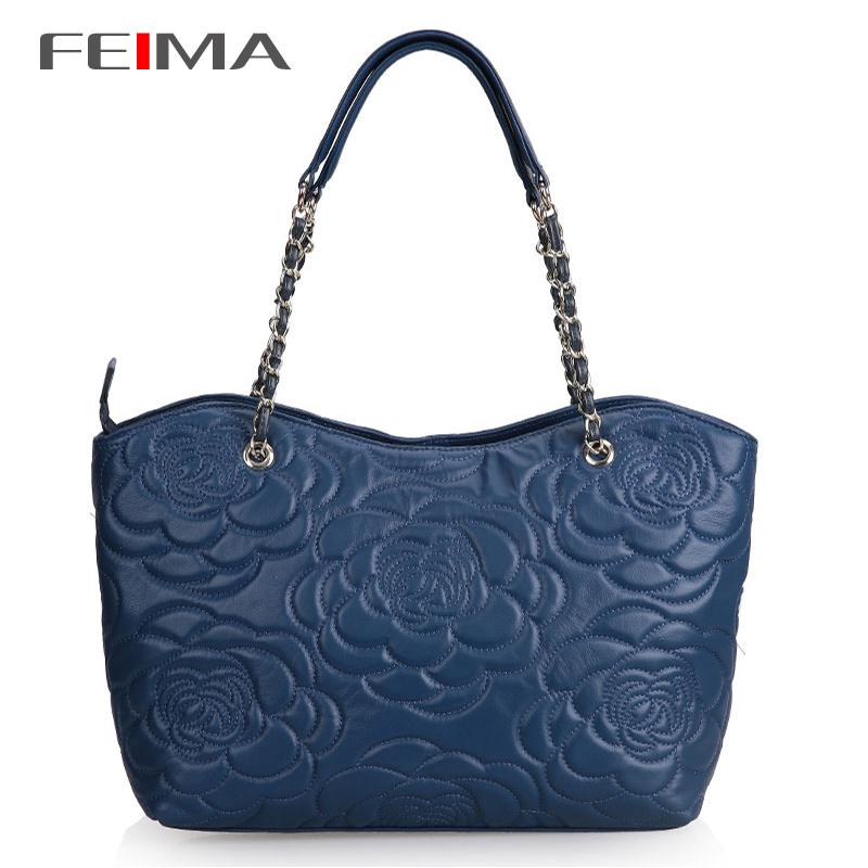 Free Shipping Popular Ladies Shoulder Bags Rivet Design Genuine Leather Vintage Handbag Fashion Messenger Bag For Wamen NO2058