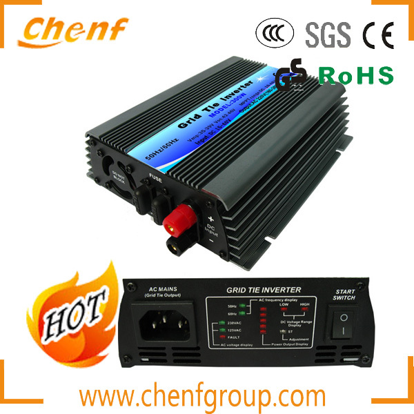 Free Shipping! ( 1 Piece Sale) 300W 22-60VDC Input DC to AC Wind Solar Grid Tie Inverter / Microinverter With AC110V/220V(China (Mainland))