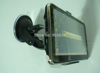 5 inch gps bluetooth  4GB maps 128M DDR HD Slim car GPS navigation with  FM AV IN Vehicle GPS