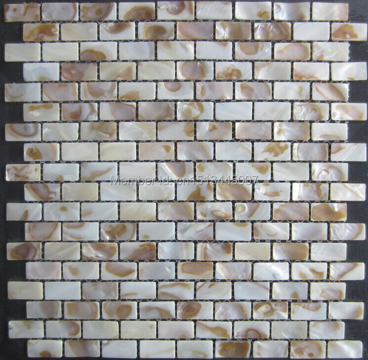 mother of pearl shell mosaic tile bathroom kitchen