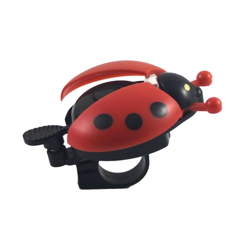 Amazing Funny Bicycle Bell Bike Bell New Ladybug Cycling Bell Outdoor Fun & Sports Bike Ring Hot Selling(China (Mainland))