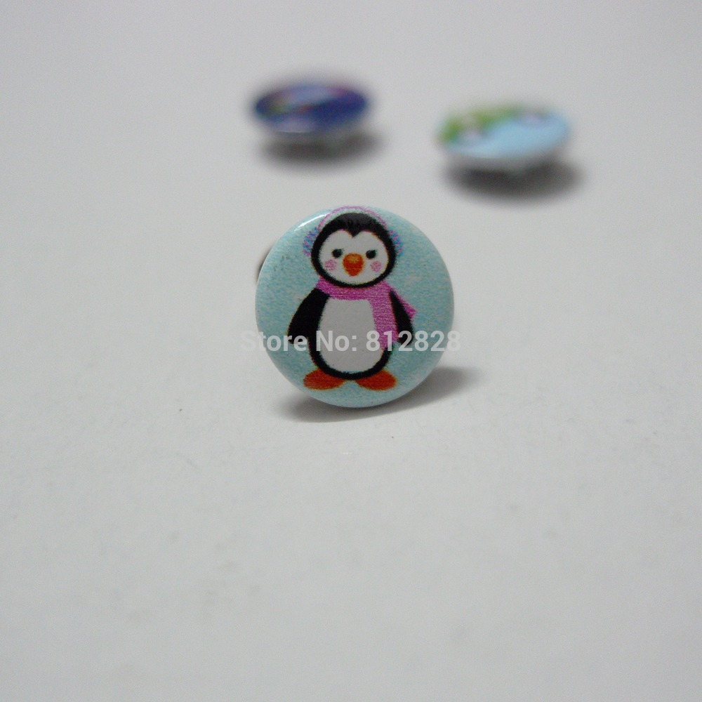 50 Sets 10mm #43 Penguin Prym Prong Snap Buttons Oeko-Tex 100 Certificate Approve(China (Mainland))
