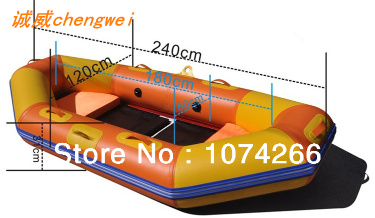Quality goods, 2/people boat drifting ship inflatable kayak thickening inflatable boat 2 years warranty(China (Mainland))