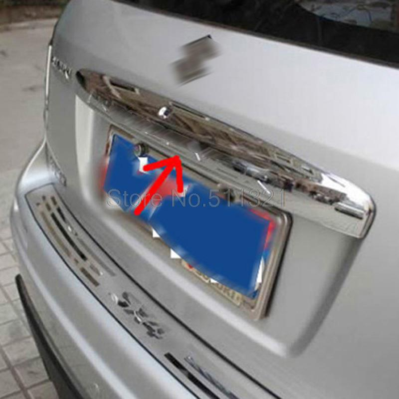Chrome Rear Trunk Lid Cover TRIM FOR SUZUKI SX4 2007-2012 crossover (Hatchback)<br><br>Aliexpress