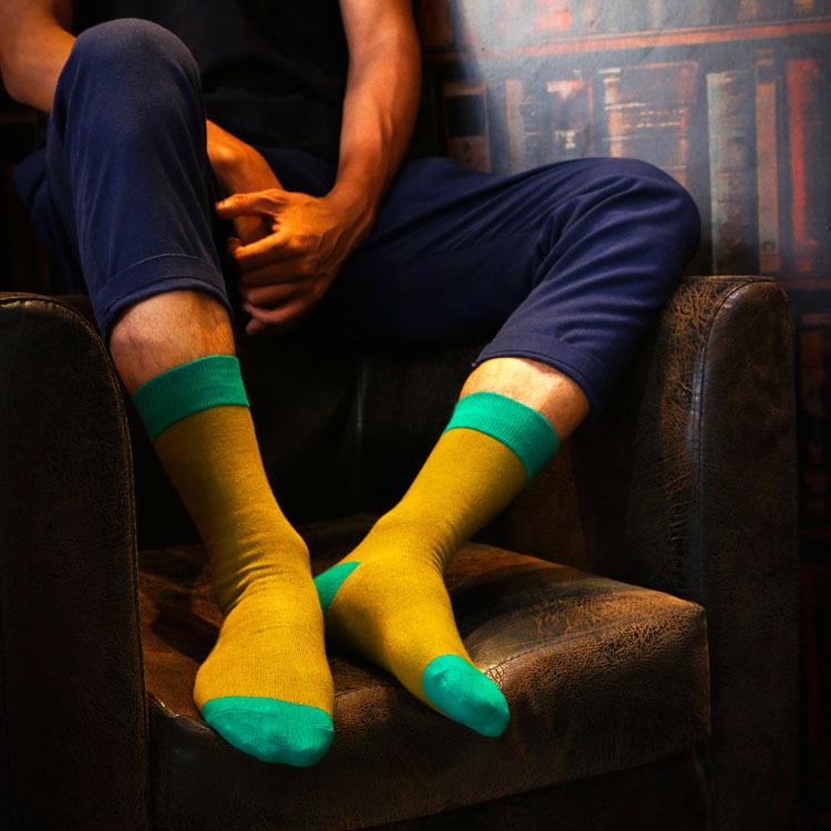 HX022 Autumn Winter New Men Socks Cotton Socks Wholesale Korean Personality Sock(China (Mainland))