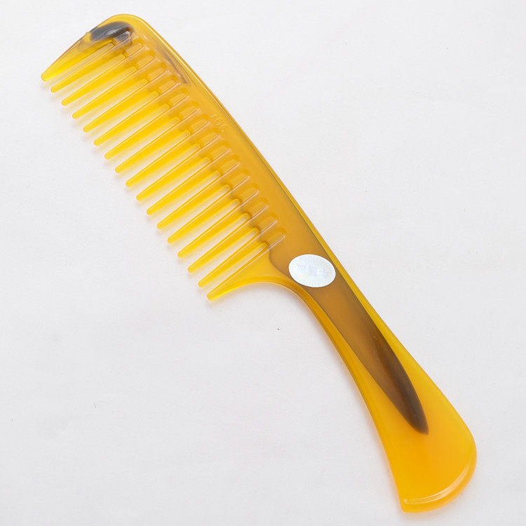 Household Personal anti-static ox Horn wooden comb professional Hair Care Styling Product plastic makeup beauty hairdresser(China (Mainland))