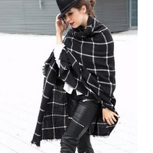 New Designer Unisex 2 Colors Shawls Cozy Blanket Women Scarf Tartan Plaid Scarves Oversized Wrap Shawl 192 x 82 cm Free Shipping