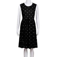 JAYCOSIN 2019 letnia sukienka kobiety plisowana kieszeń Polka Dot luźna, w stylu swing Casual Midi sukienka Plus rozmiar moda elegancka sukienka may23 #4(China)