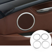 Buy BMW 5 Series GT F07 Interior Car Door Speaker Cover Trim 2010-2015 4pcs for $25.93 in AliExpress store