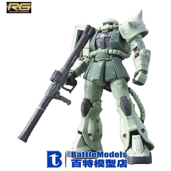 Фотография Genuine BANDAI MODEL 1/144 SCALE Gundam models #170388 RG MS-06F ZAKU II plastic model kit