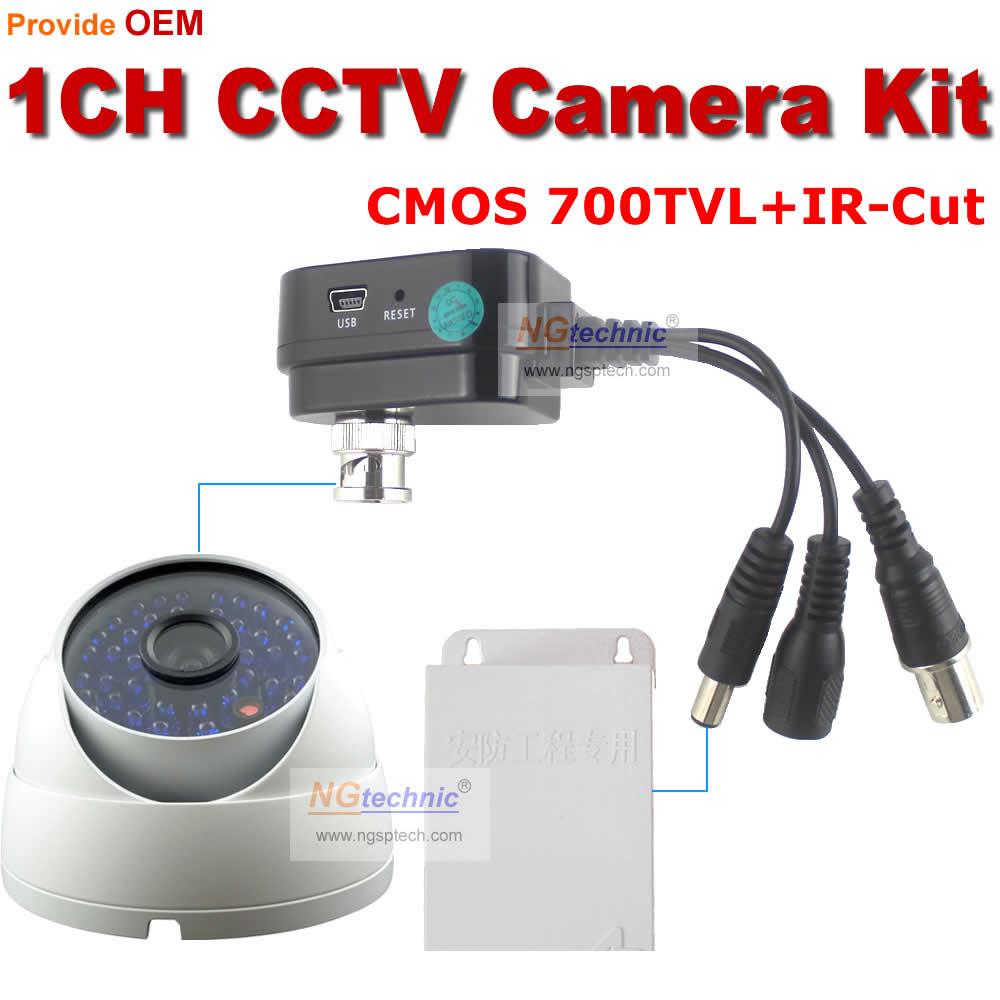 CCTV Mini dvr motion detect digital video 1channel security recorder and 700TVL waterproof vandalproof CCTV Camera mini DVR Kit<br><br>Aliexpress