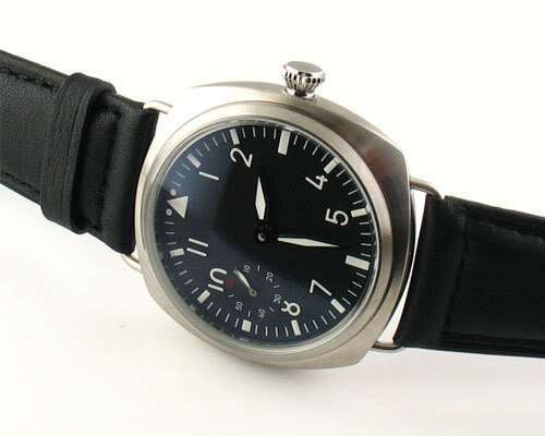 Parnis 47mm seagull 6497 movement manual chain black casual sterile mens watch - Station store