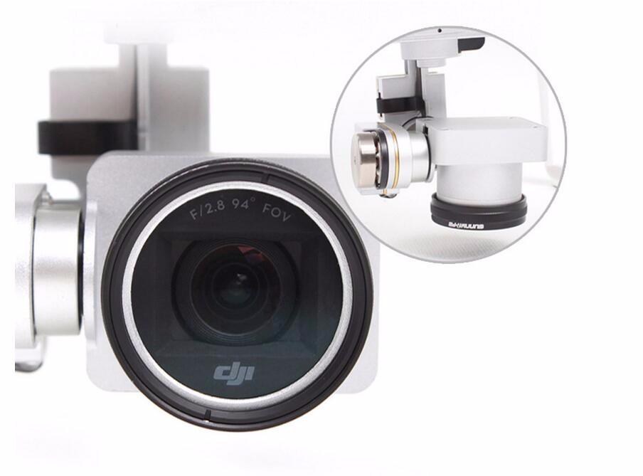 DJI Phantom 3 Phantom 4 Accessories ND4 / ND8 / MCUV / CPL Lens Filter fr Phantom 4 Phantom 3 Professional & Advanced & Standard