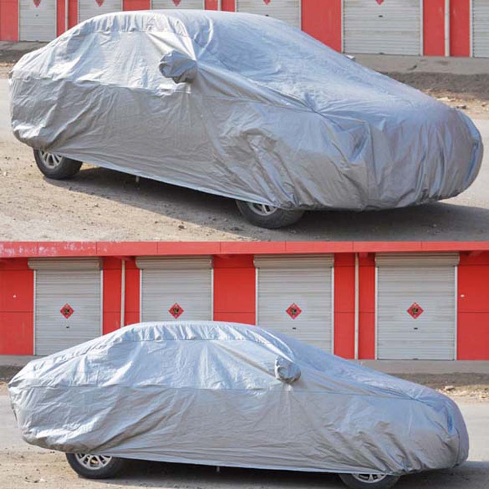 1 Pcs Full Car AUTO Cover UV Waterproof Outdoor Resistant Car- Covers L 470*180*150cm for Corolla,Mazda 6,Audi A4,Benz C-Class(China (Mainland))
