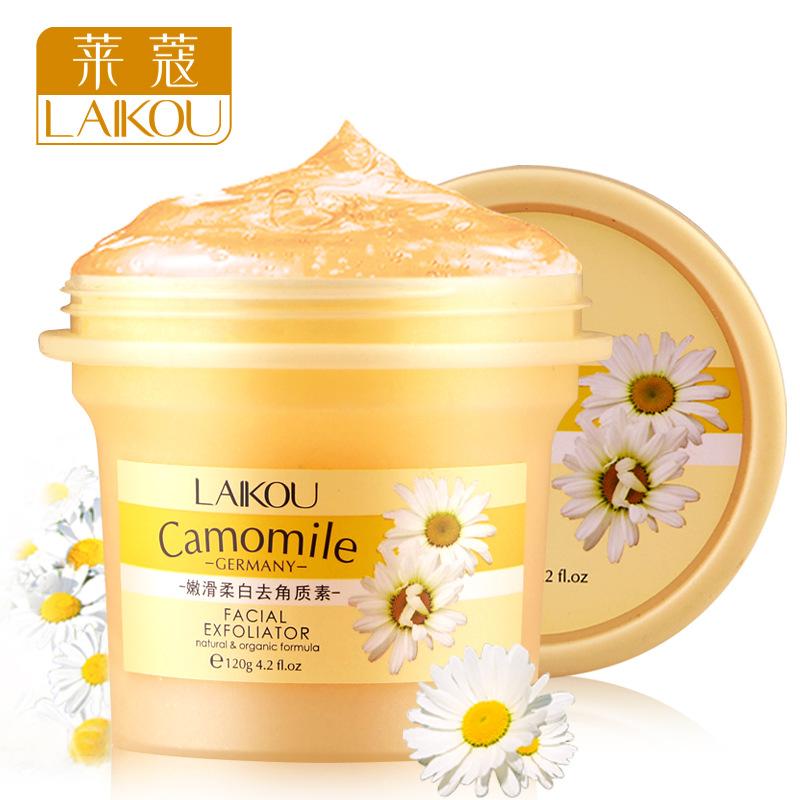 Facial scrub to keratin exfoliating cream whitening gel condensation face 120 g