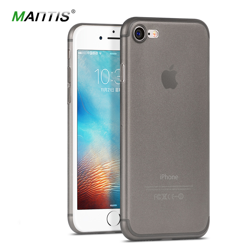 Ultrathin PP case for iPhone 7/7 Plus/7 Pro 0.6mm Brand phone cover For iPhone7 Transparent Slim back case for 7(China (Mainland))